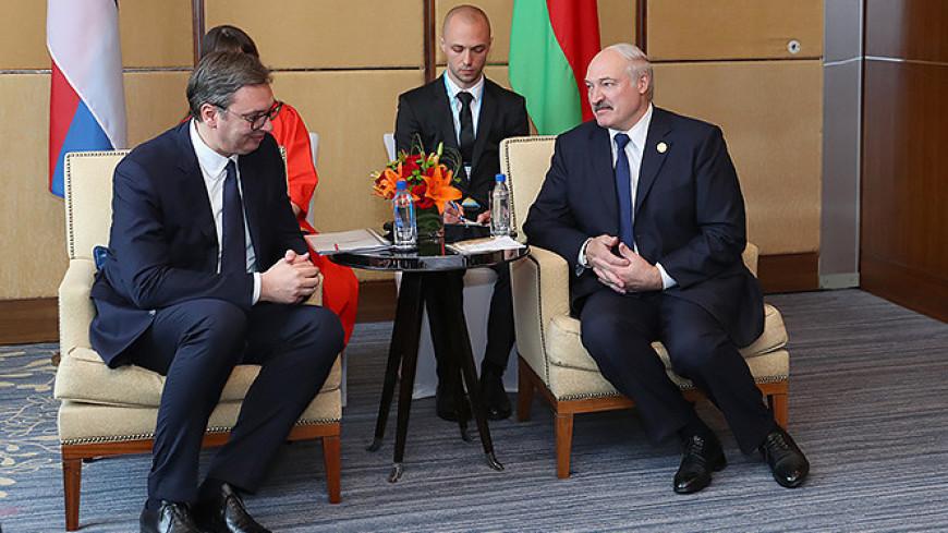 Лукашенко предложил Сербии развивать проекты в различных сферах