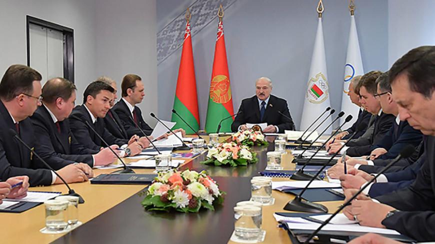 Лукашенко дал белорусским спортсменам установку на победу в Европейских играх