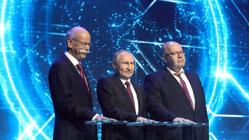 Путин: В Mercedes-Benz не будут разочарованы тем, как идет бизнес в России
