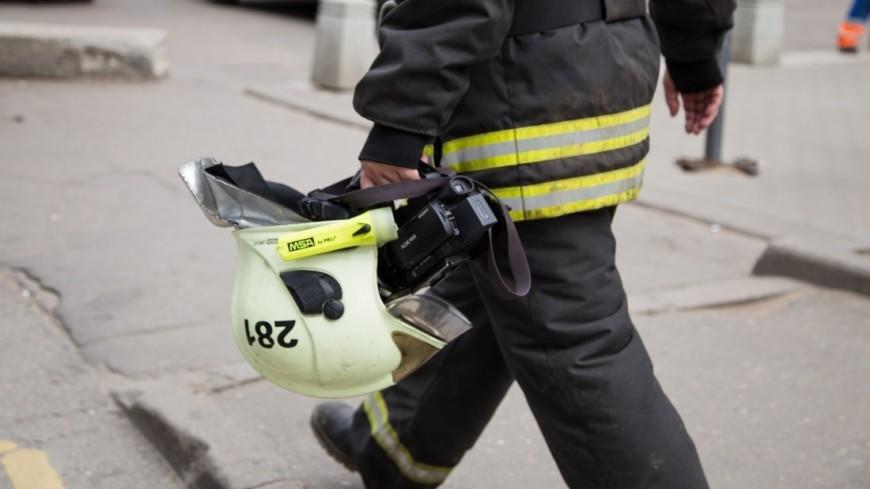 МЧС: Пожар в пятиэтажке в Канске локализован