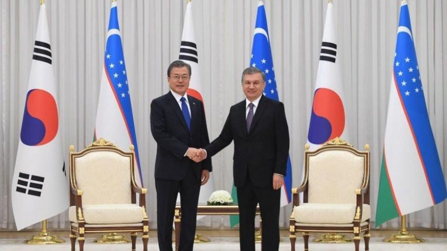 Мирзиеев и Мун Чжэ Ин обсудили торговлю, инвестиции и гуманитарные связи