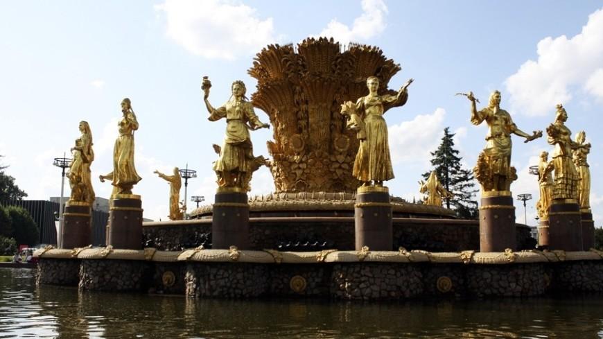 """Фото: Елена Андреева, """"«Мир24»"""":http://mir24.tv/, фонтан дружбы народов, ввц, вднх"""