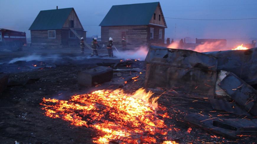 Медведев поручил оказать помощь пострадавшим от пожаров в Забайкалье
