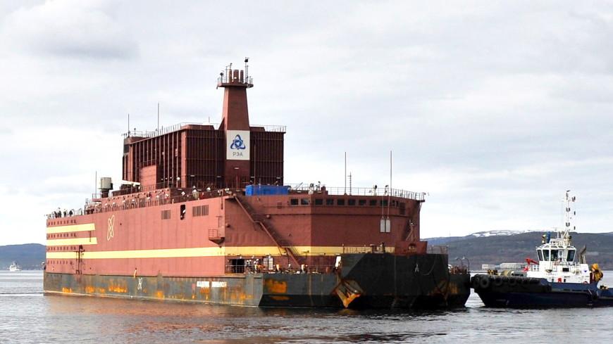 В России испытали первый в мире плавучем атомный энергоблок