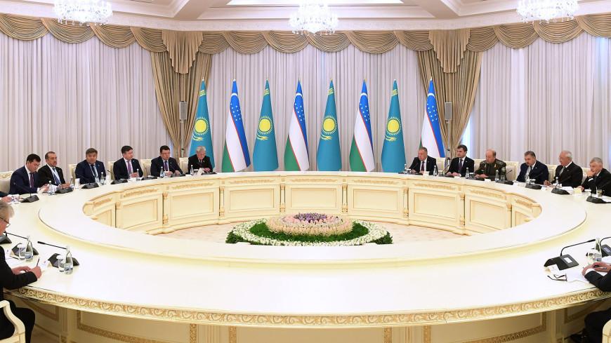 Торгово-экономический центр появится на границе Узбекистана и Казахстана