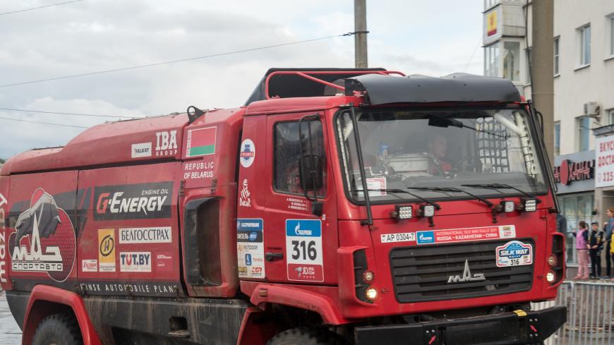 Капотный грузовик МАЗ впервые отправят на гонки