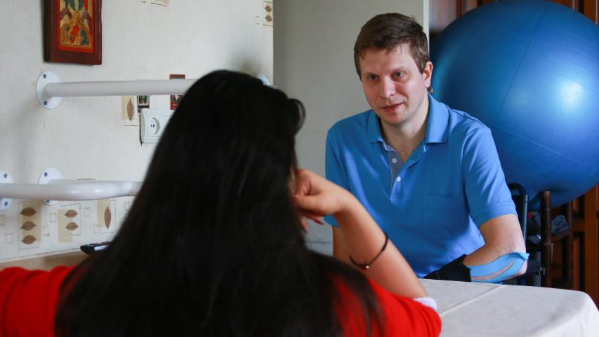 Побег от смерти: парализованный москвич рассказал, что такое счастье