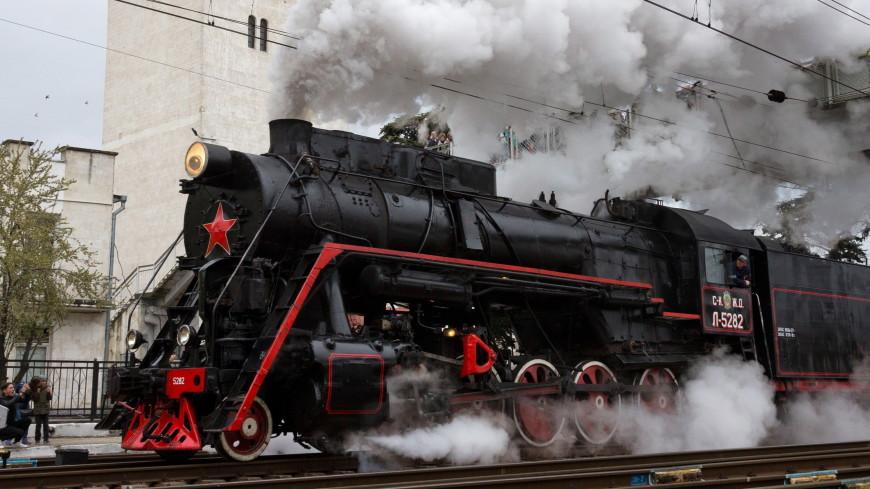 Свисток паровоза дал старт юбилейному субботнику в Москве