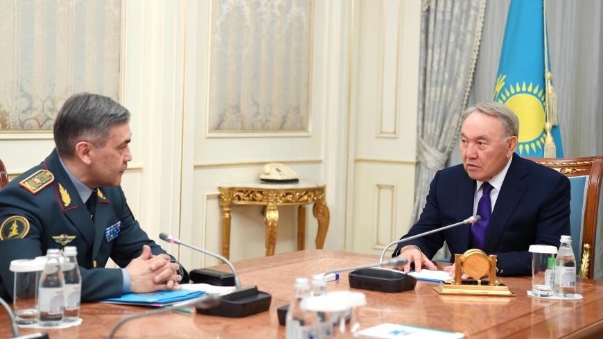 Назарбаеву доложили о ходе исполнения указаний, данных на заседании Совбеза