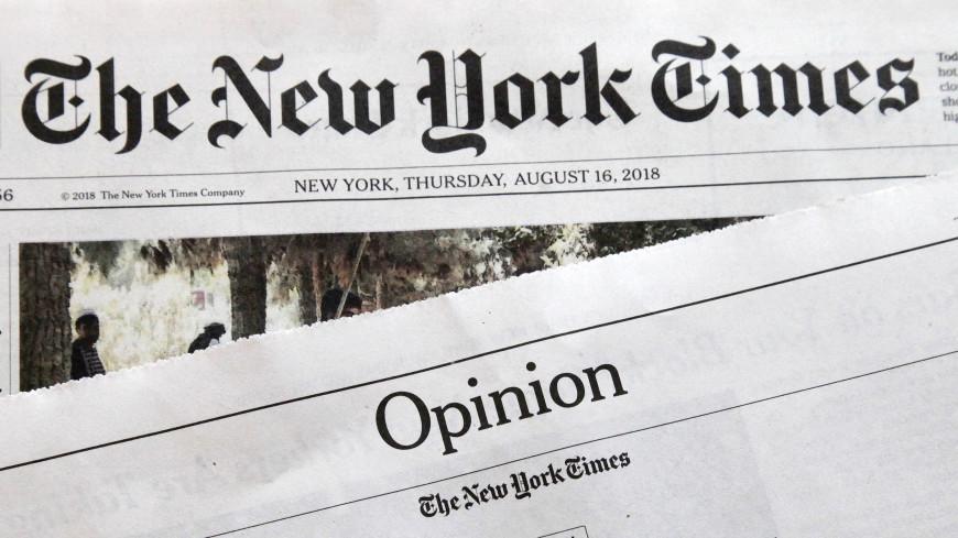 The New York Times извинилась за антисемитскую карикатуру