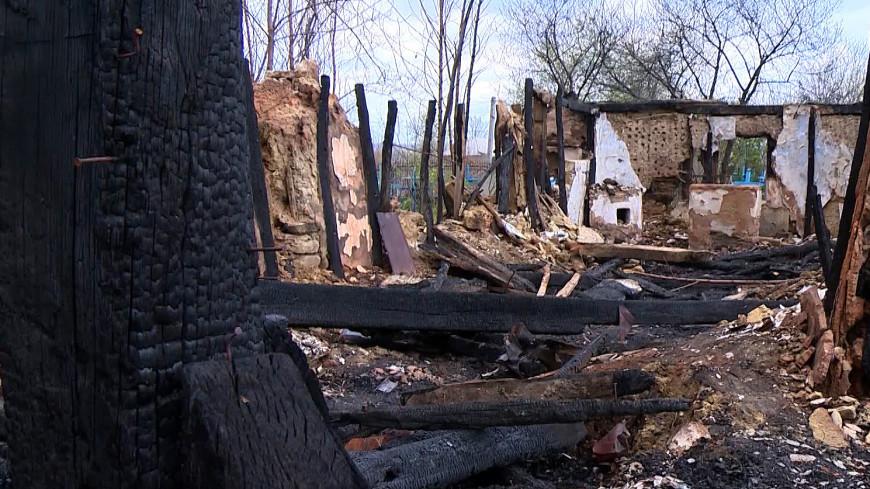 Пожар стер с лица земли старейшую деревянную церковь в Молдове
