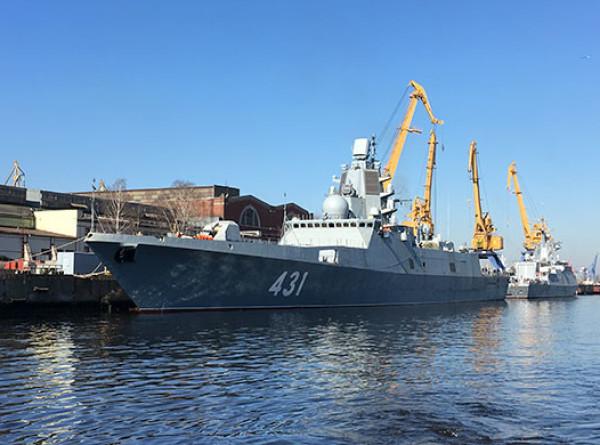«Хозяин морей»: фрегат «Адмирал флота Касатонов» отправился на испытания