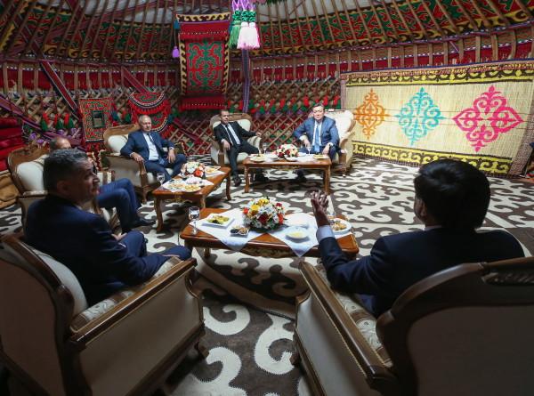 Юрта дружбы в Чолпон-Ате: итоги встречи премьеров ЕАЭС