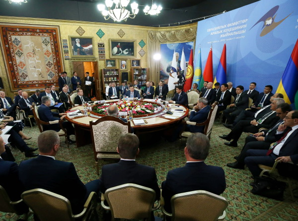 Заседание Евразийского межправсовета в Чолпон-Ате (ВИДЕО)