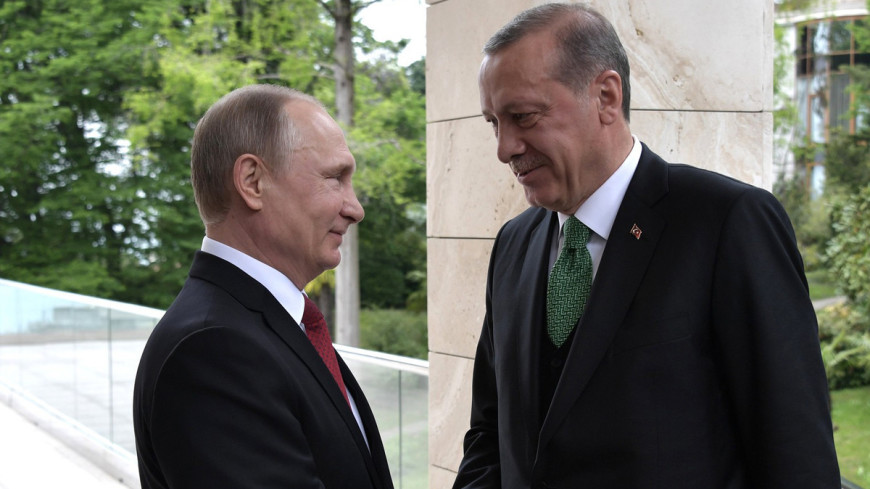 Путин и Эрдоган обсудили Сирию и борьбу с терроризмом
