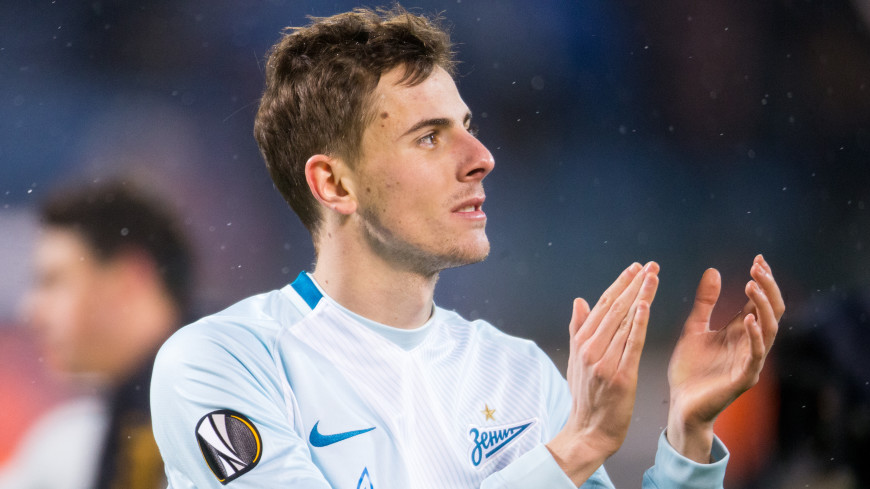 Нападающий «Зенита» Лука Джорджевич перешел в «Локомотив»