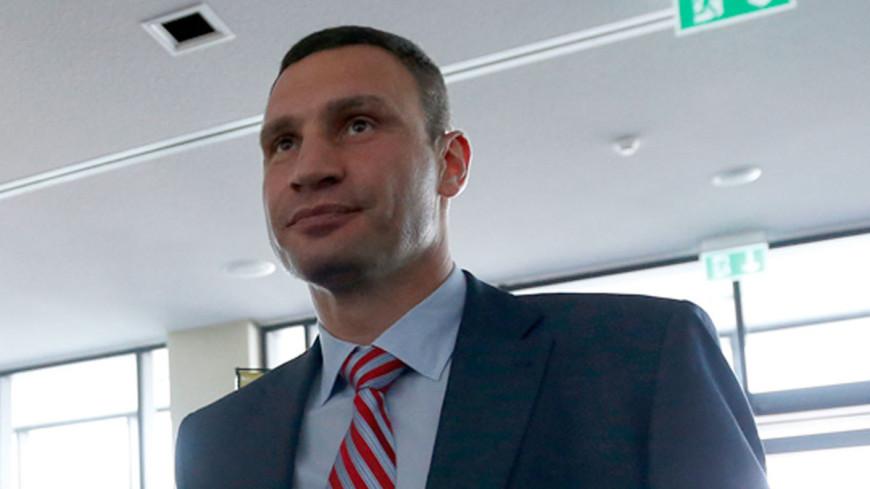 Кличко намерен баллотироваться на второй срок на пост мэра Киева