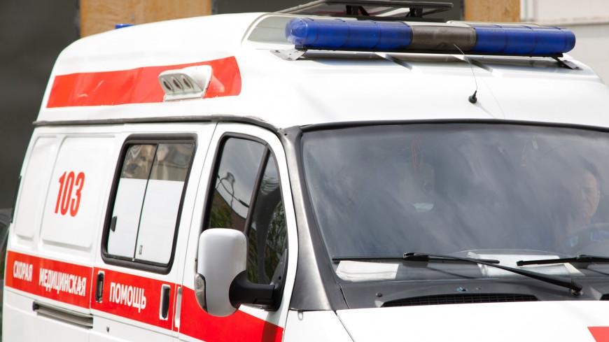Около 10 человек пострадали в аварии с автобусом на севере Москвы