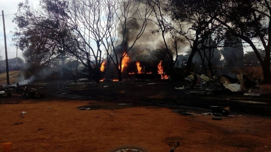 Число жертв трагедии с бензовозом в Танзании приблизилось к 70