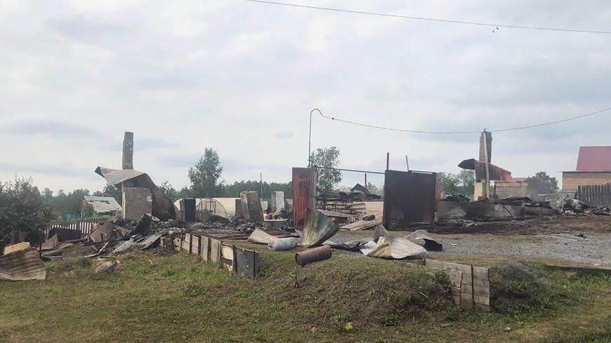 При разминировании у арсенала под Ачинском новый взрыв ранил пять человек