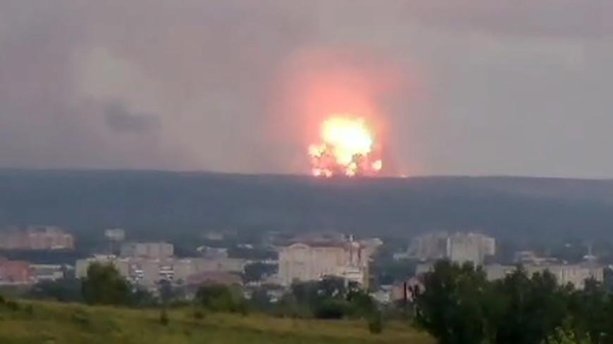 Из Ачинска эвакуируют около 11 тысяч жителей из-за взрывов на военном складе