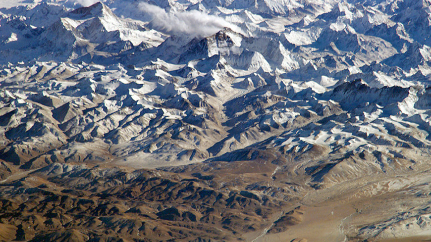 "Фото: ""NASA"":http://earthobservatory.nasa.gov/IOTD/view.php?id=4346, горы, эверест"