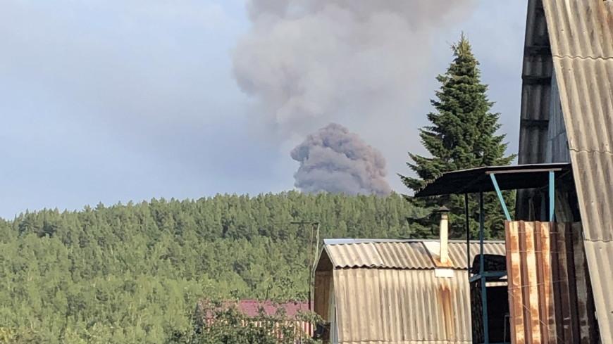 Очевидец о взрывах под Ачинском: В домах дребезжат стекла, все в спешке уезжают