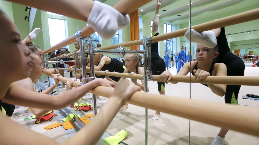 Этап Кубка мира по художественной гимнастике стартовал в Минске