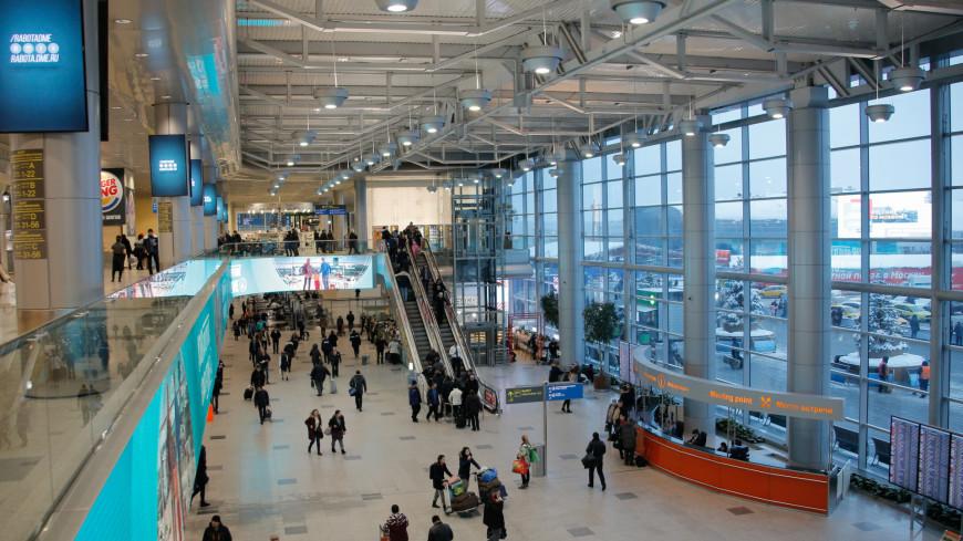 аэропорт, домодедово, самолет, эскалатор, люди,