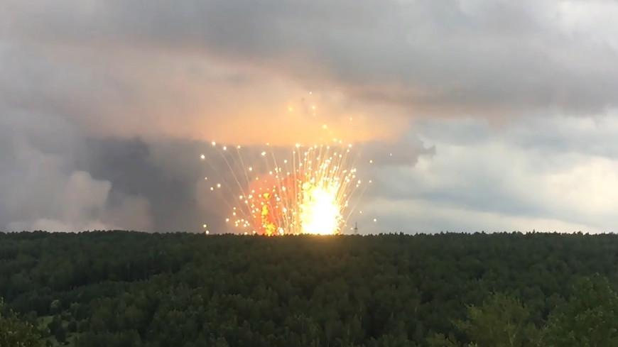 Из-за взрывов под Ачинском из трех сел и детского лагеря эвакуируют 1000 человек