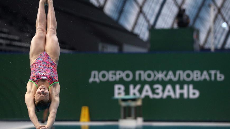 Россиянки Клюева и Королева завоевали на ЧЕ золото в синхронных прыжках