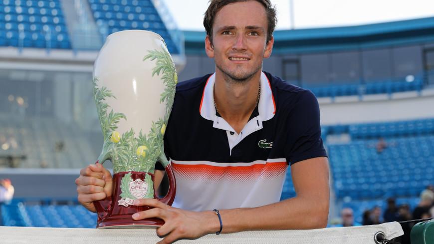 Теннисист Даниил Медведев впервые в карьере победил на турнире серии Masters