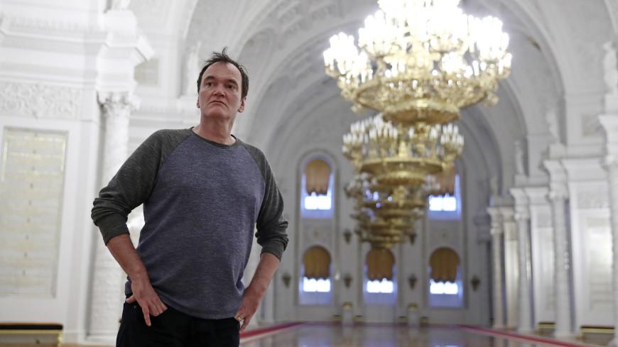 Тарантино приехал в Москву и осмотрел Кремль