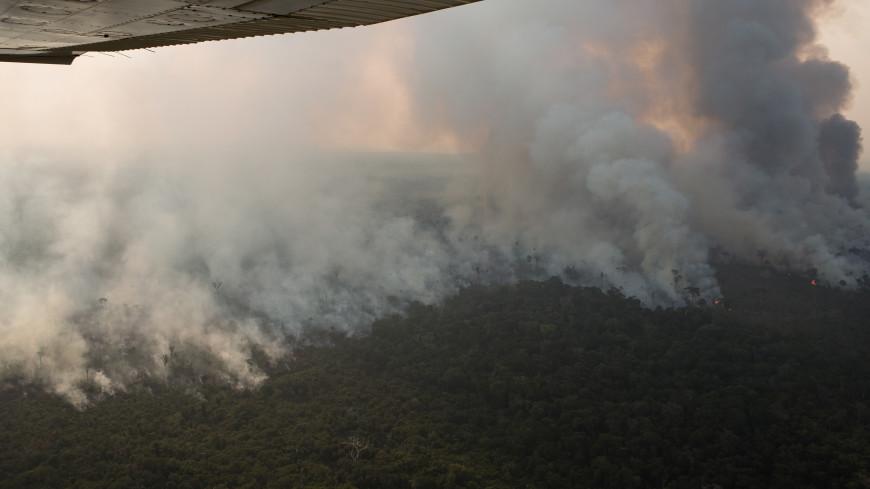 За двое суток число пожаров в Бразилии возросло на 1,5 тысячи