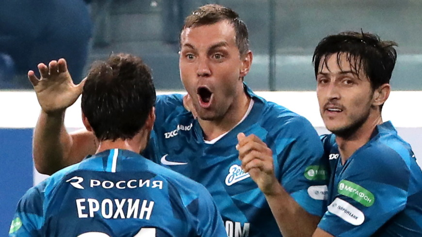 Дзюба помог «Зениту» сохранить лидерство в турнирной таблице РПЛ