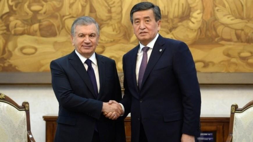 Жээнбеков и Мирзиеев обсудили двустороннее сотрудничество