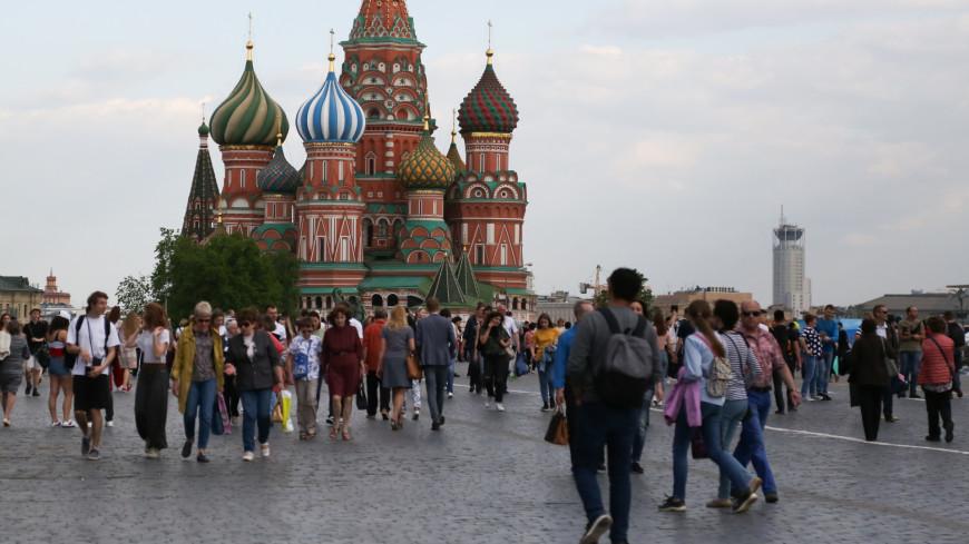 Красная площадь, Кремль, Люди, Туристы