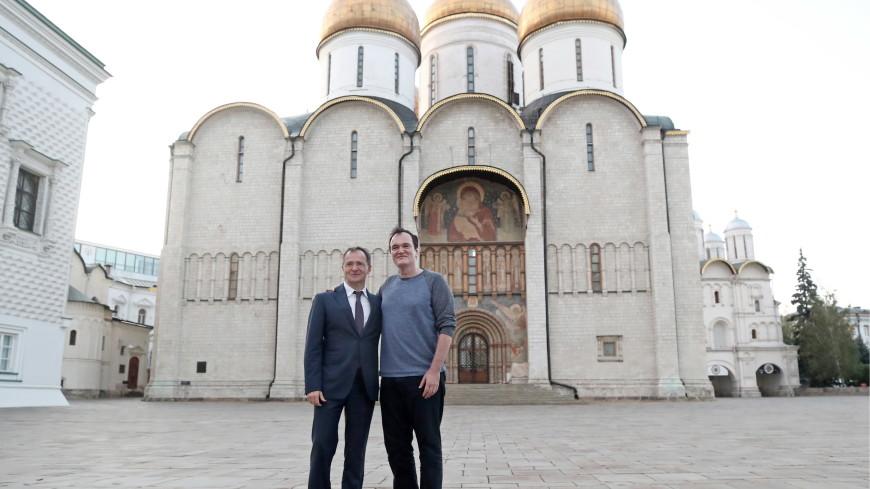 Мединский поделился впечатлениями от прогулки по Кремлю с Тарантино