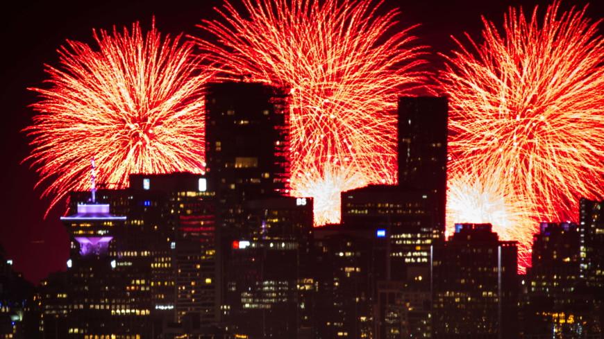 Канада стала победителем в мировом чемпионате фейерверков