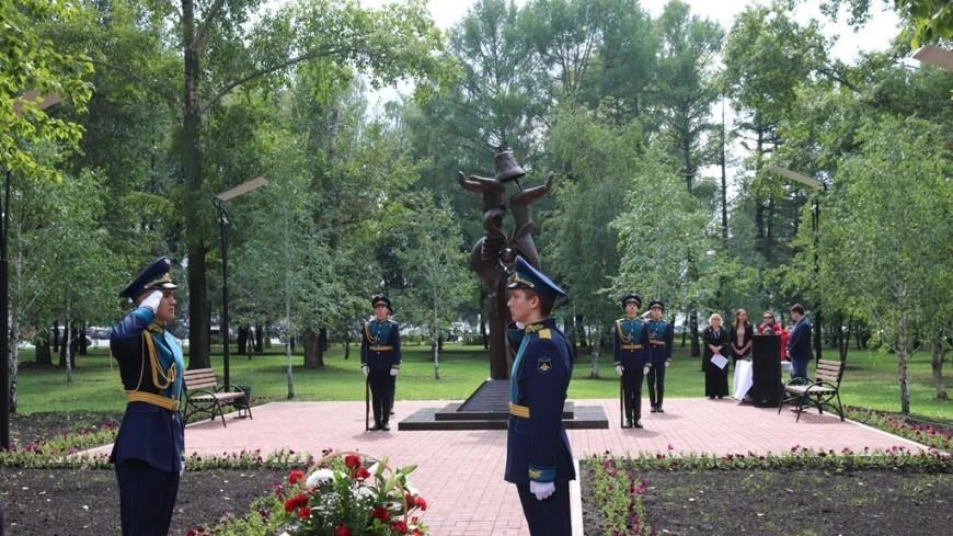 В Уфе открыли памятник ликвидаторам Чернобыльской катастрофы