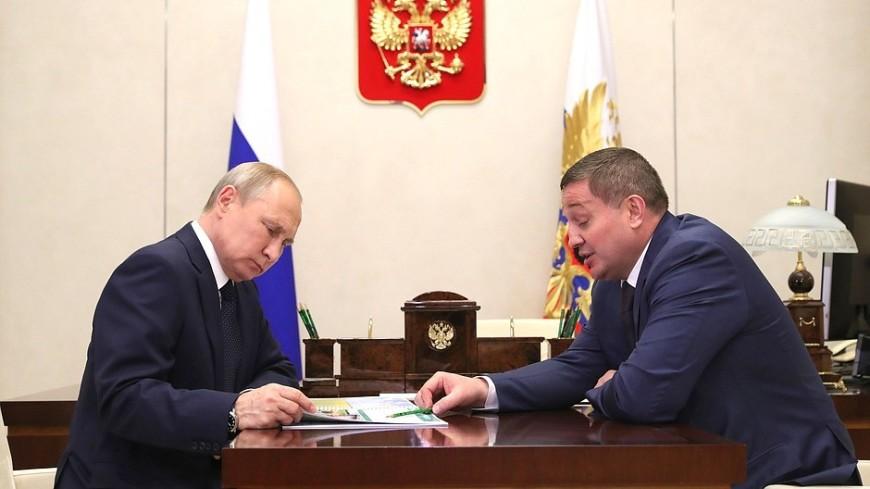 Бочаров доложил Путину о проекте оздоровления Волго‑Ахтубинской поймы