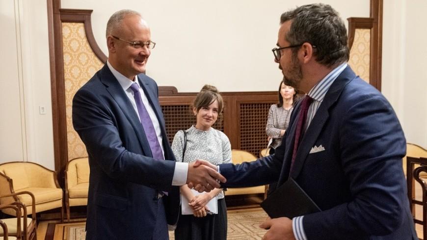 Россия и Люксембург обсудили развитие двустороннего экономического сотрудничества