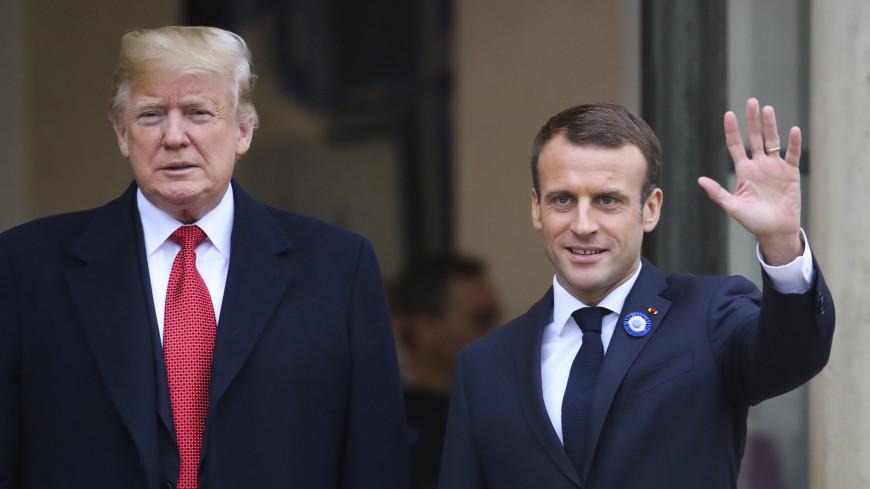 Макрон и Трамп провели рабочий завтрак перед саммитом G7