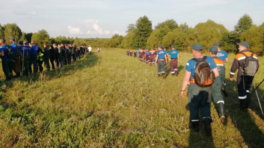 К поискам девочки под Нижним Новгородом привлечены более тысячи человек
