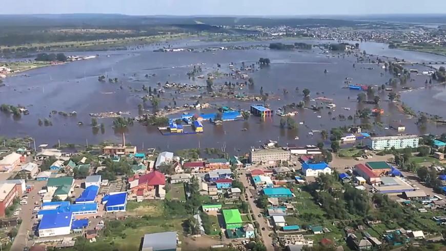 Военные продезинфицировали в затопленном Тулуне почти 150 тыс. кв. м.
