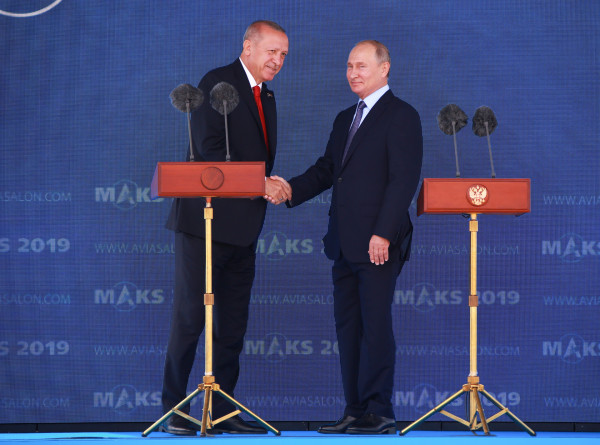 Путин и Эрдоган обсудили ситуацию в Сирии, Ливии, энергетику и ВТС