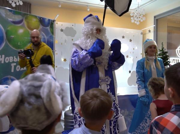 «МИР» подарил маленьким пациентам в Уфе новогоднее настроение