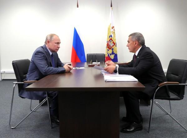 Минниханов доложил Путину о реализации нацпроектов в Татарстане