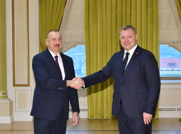 Алиев: Год был успешным для развития российско-азербайджанских отношений