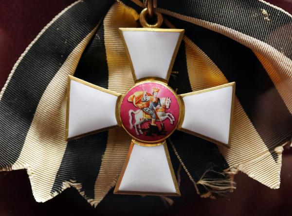 Награда за доблесть: 250 лет назад был учрежден орден Святого Георгия